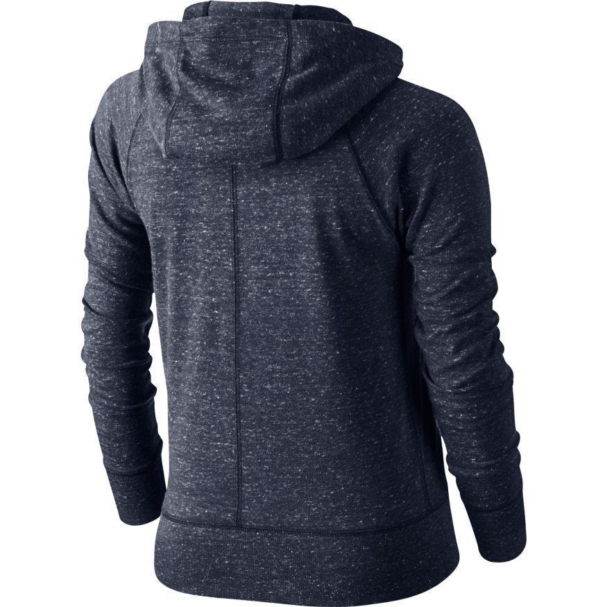 Кофта детская Nike Girl's Gym Vintage Hooded Jacket Navy