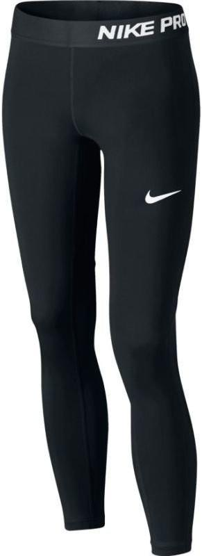 Леггинсы детские Nike Pro CL Tight black/black/black/white