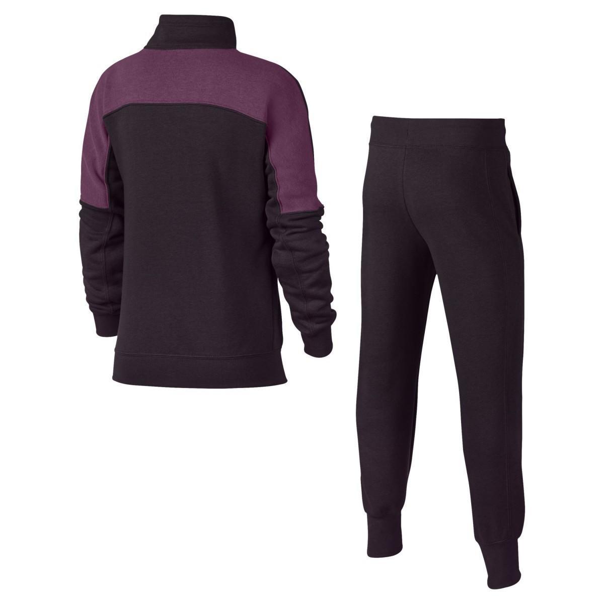 Спортивный костюм детский Nike Girl's NSW Track Suit Port Wine/Tea Berry & Sail