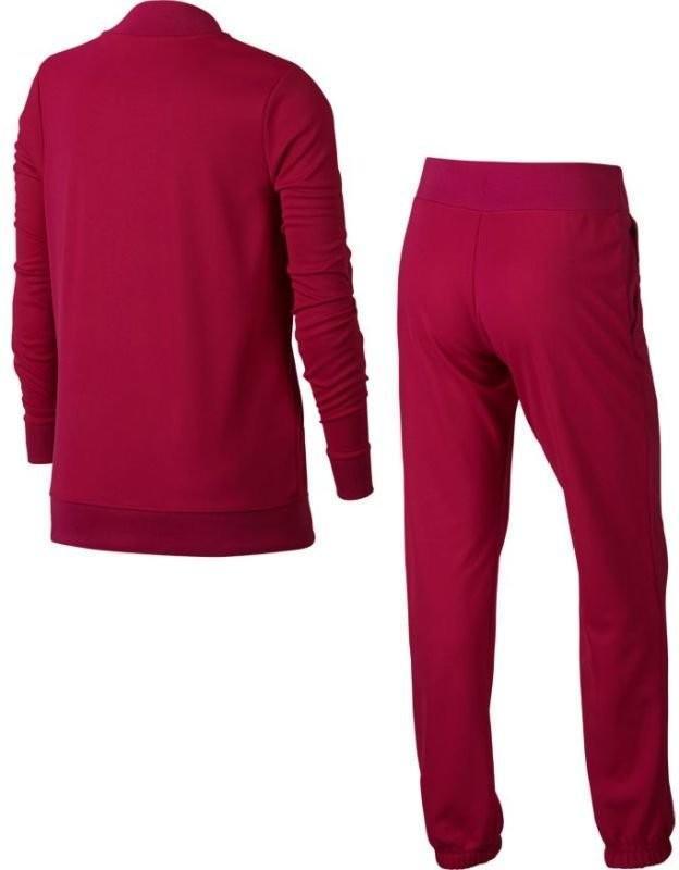 Спортивный костюм детский Nike Girl's NSW Track Suit Tricot active pink/active pink/black
