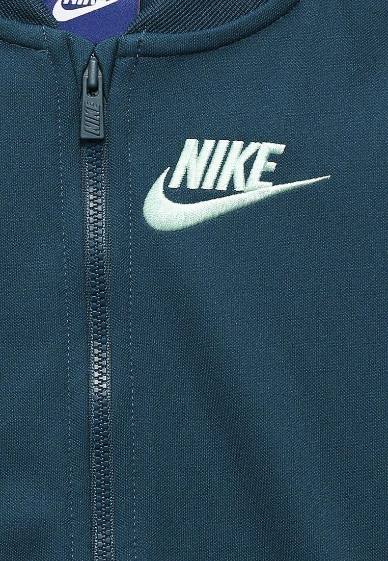 Спортивный костюм детский Nike Girl's NSW Track Suit Tricot Space Blue w/Light Aqua