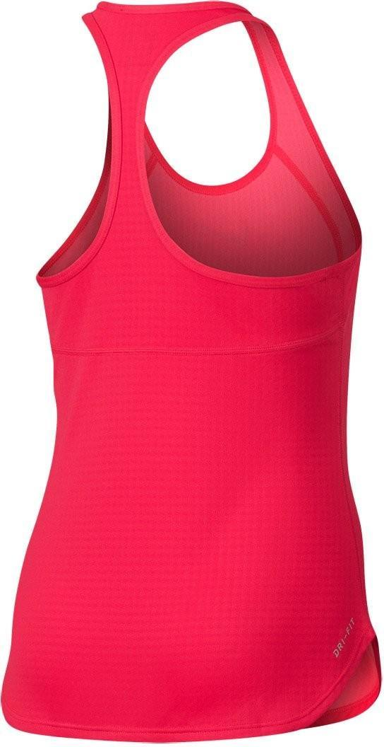 Теннисная майка детская Nike Dry Tank Slam YTH action red/midnight navy