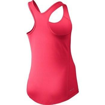 Теннисная майка детская Nike Girl's Pro Cool Tank Racer Pink w/Black