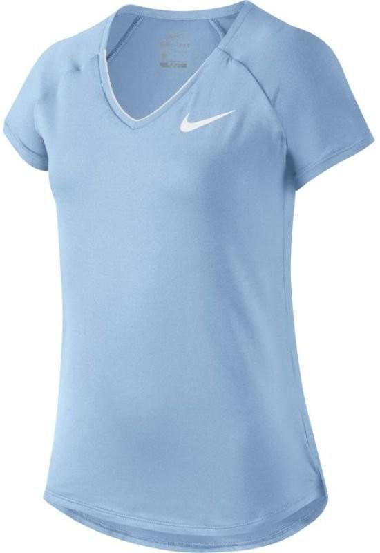 Теннисная футболка детская Nike Pure Top Girl
