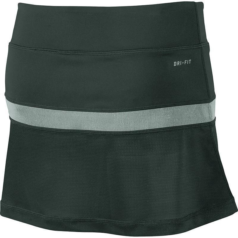 Теннисная юбка женская Nike Victory Power Skirt seaweed/bleached turquoise