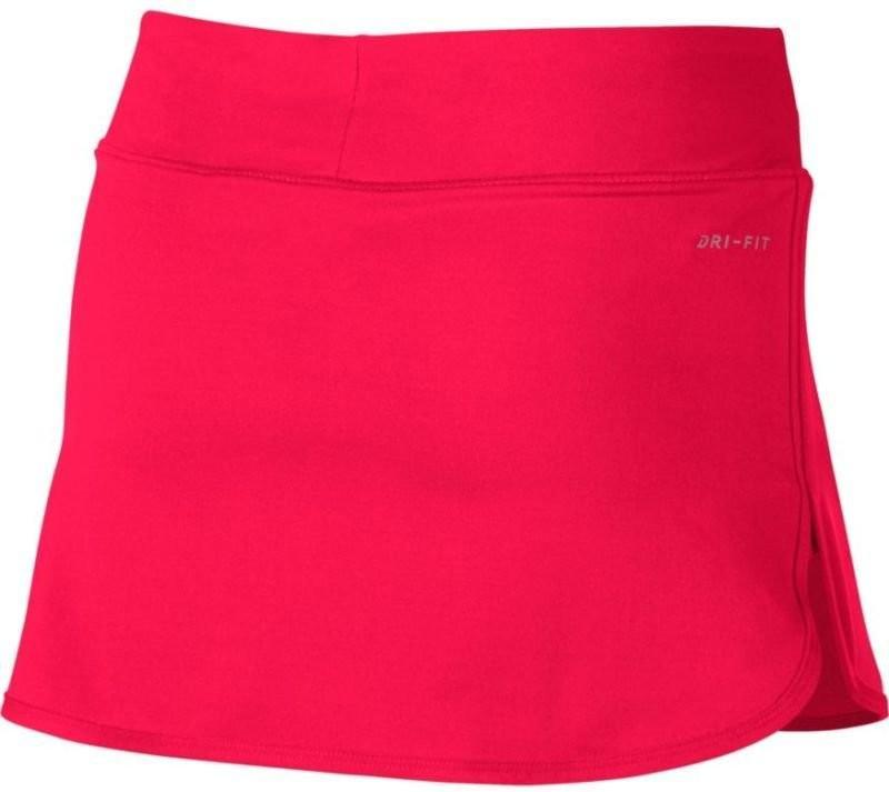 Теннисная юбка детская Nike Pure Girls Skirt action red