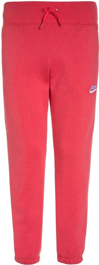 Штаны детские Nike Fleece Pant vivid pink/vivid pink/white