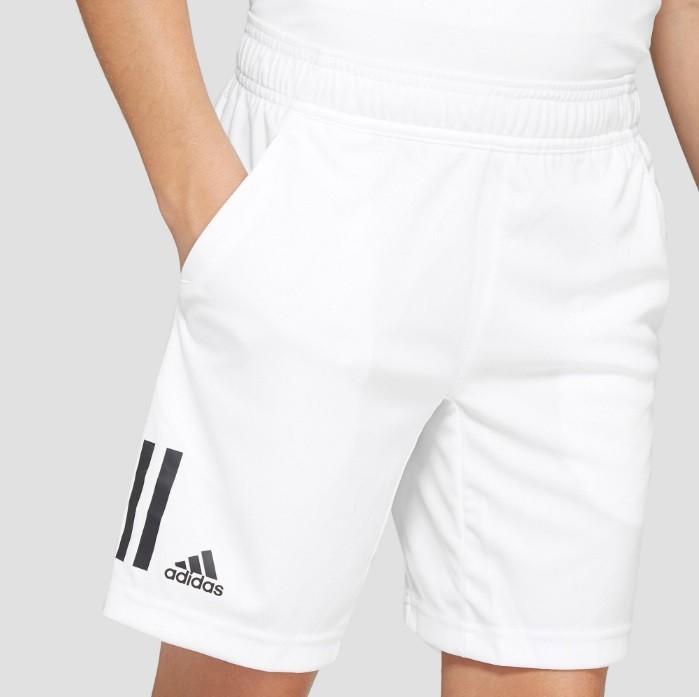 Теннисные шорты детские Adidas B Club 3S Short white
