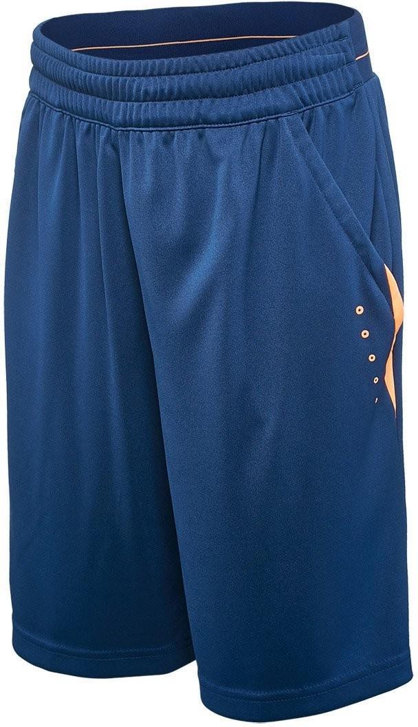 Теннисные шорты детские Adidas Barricade Short mystery blue/glow orange