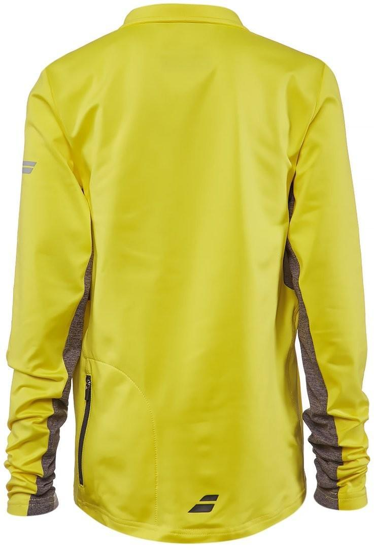 Кофта детская Babolat 1/2 Zip Core Boy aero yellow