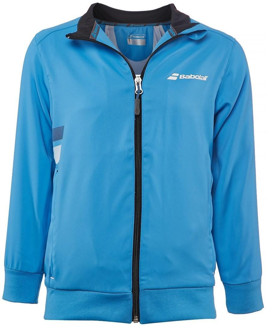 Кофта детская Babolat Core Club Jacket Boy drive blue