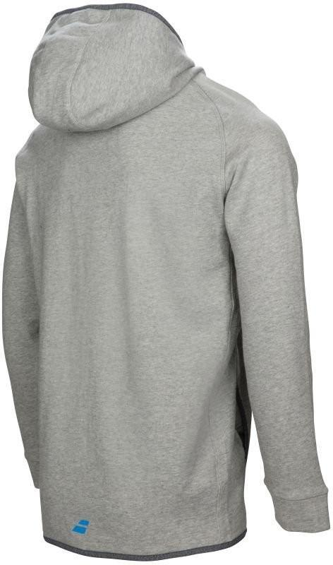 Кофта детская Babolat Core Hood Sweat Boy heather grey