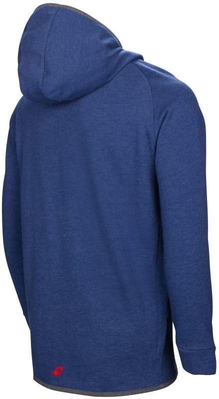 Кофта детская Babolat Core Hood Sweat Boy twilight blue