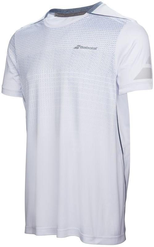 Теннисная футболка детская Babolat Performance Crew Neck Tee Boy white