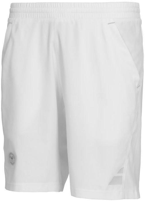 Теннисные шорты детские Babolat Wimbledon Short XLong Performance Boy white