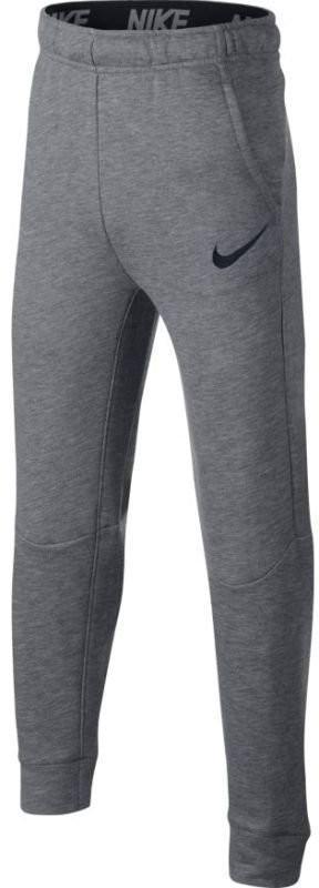 Спортивные штаны детские Nike Boys Dry Pant Taper FLC carbon heather/black