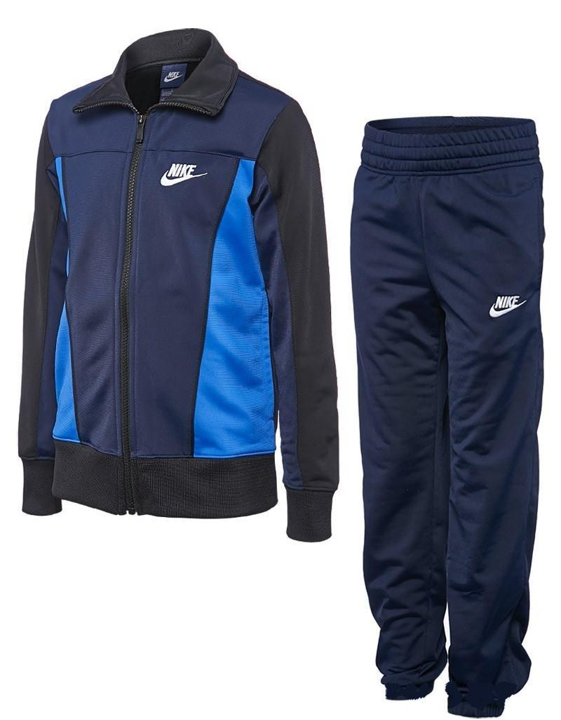 Спортивный костюм детский Nike Boy's Winter Sportswear Warm-Up Obsidian Navy w/Game Royal/Black & White