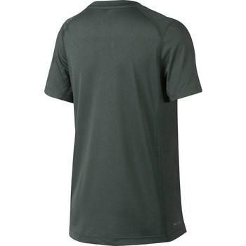 Теннисная футболка детская Nike Dry Miler Boys' Top vintage green