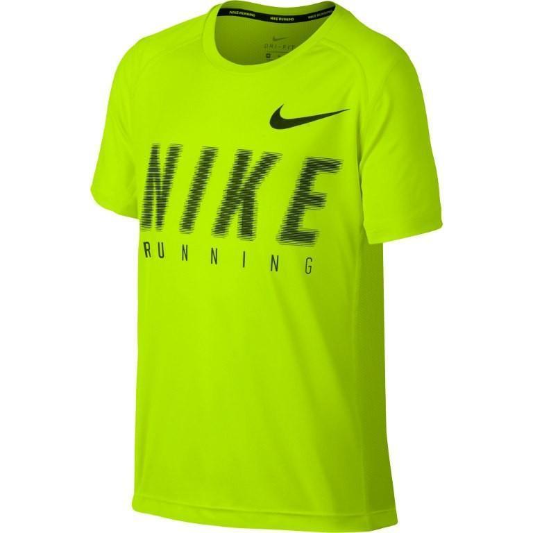 Теннисная футболка детская Nike Dry Miler Boys' Top volt