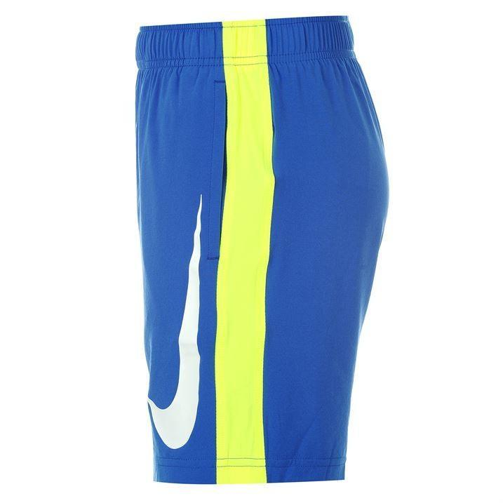 Теннисные шорты детские Nike Boy's Fly Woven Short Game Royal w/Volt & White