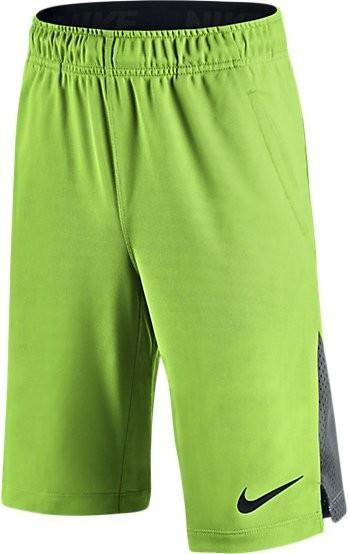 Теннисные шорты детские Nike Boy's Hyperspeed Knit Short  action green/black