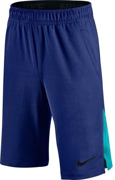 Теннисные шорты детские Nike Boy's Hyperspeed Knit Short deep royal blue/photo blue/black