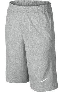 ccaba444f31d Теннисные шорты детские Nike Boy s N45 Jersey Swoosh Short dark grey  heather white