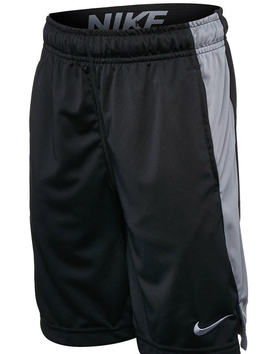 Теннисные шорты детские Nike DRY SHORT FLY Black w/Cool Grey