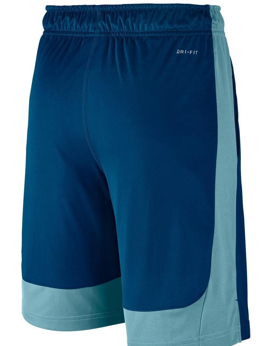 Теннисные шорты детские Nike DRY SHORT FLY Blue Jay/Cerulean & Black