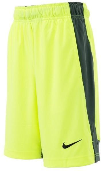 Теннисные шорты детские Nike DRY SHORT FLY Volt/Grey