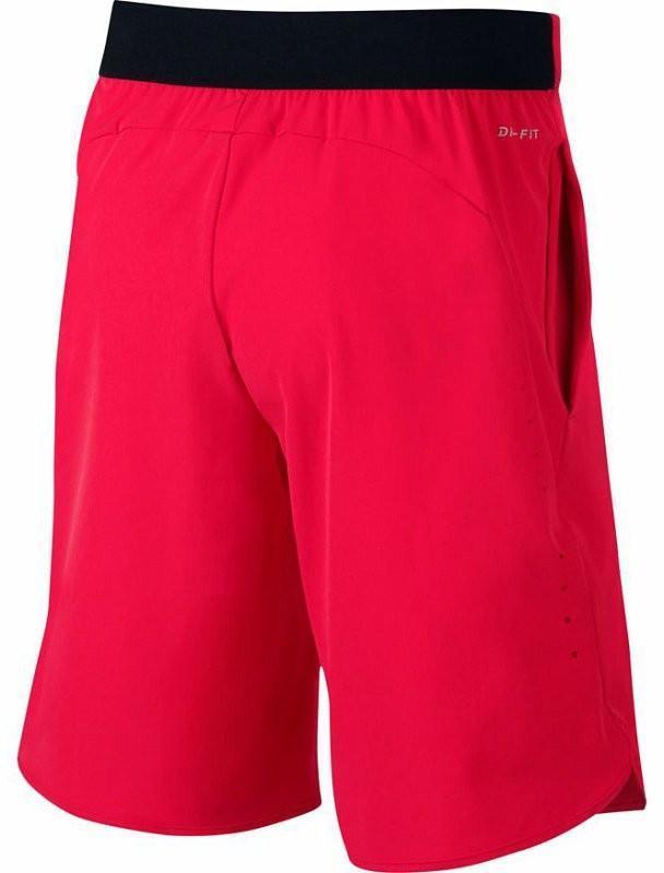 Теннисные шорты детские Nike Flex Ace Short YTH action red/black
