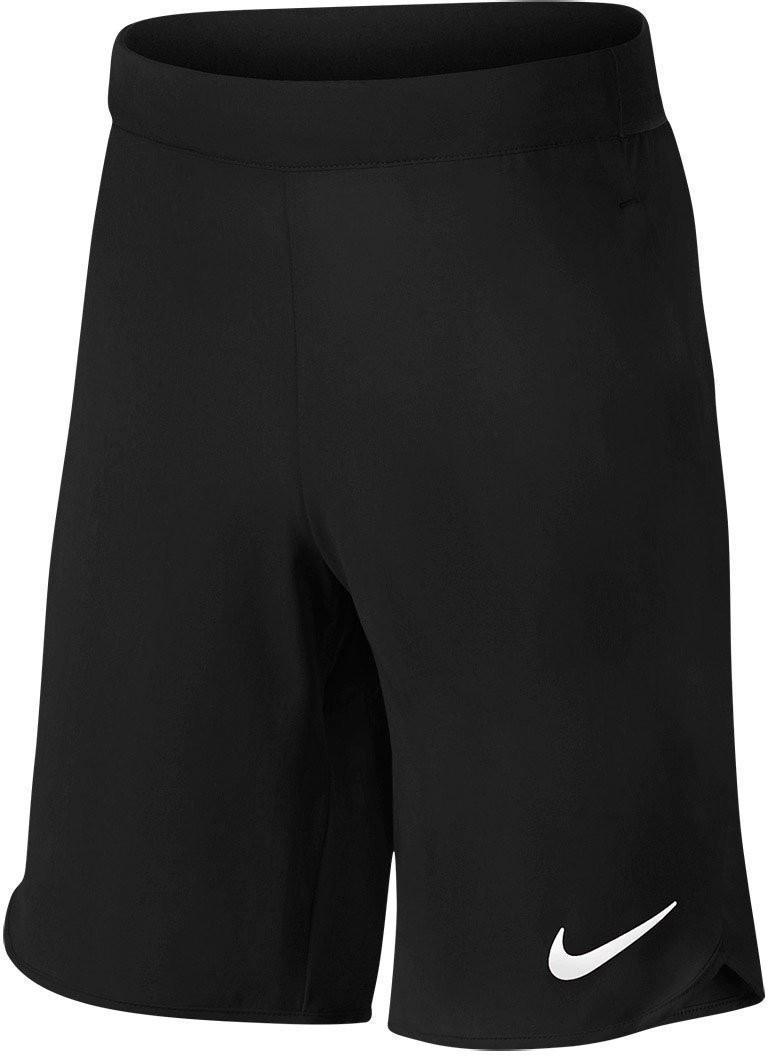 Теннисные шорты детские Nike Flex Ace Short YTH black/white