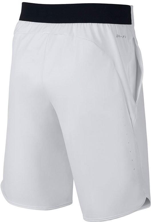 Теннисные шорты детские Nike Flex Ace Short YTH white/black