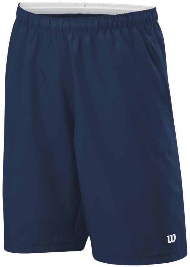 Теннисные шорты детские Wilson Boys Rush 8 Woven Short navy/silver