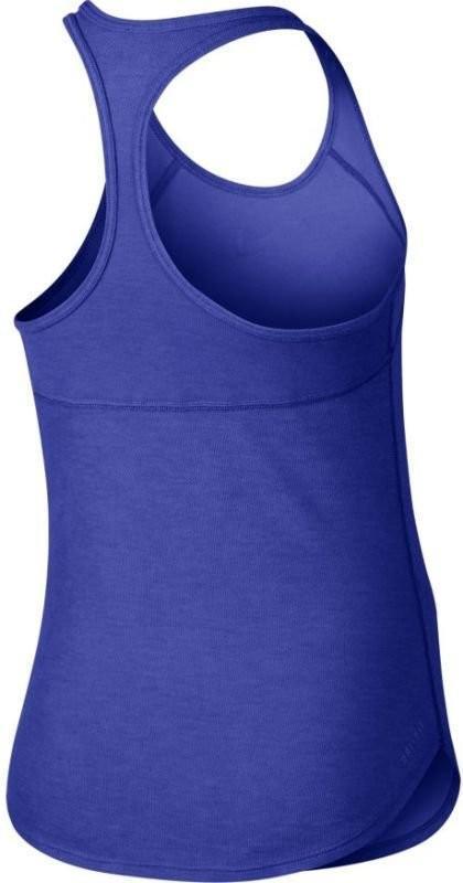 Теннисная майка детская Nike Slam Tank YTH paramount blue