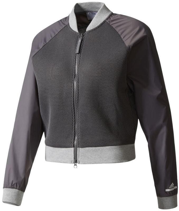Теннисная куртка женская Adidas by Stella McCartney Barricade Jacket granite