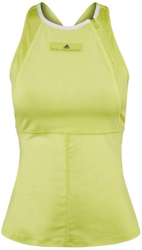 Теннисная майка женская Adidas by Stella McCartney Barricade Tank aero lime