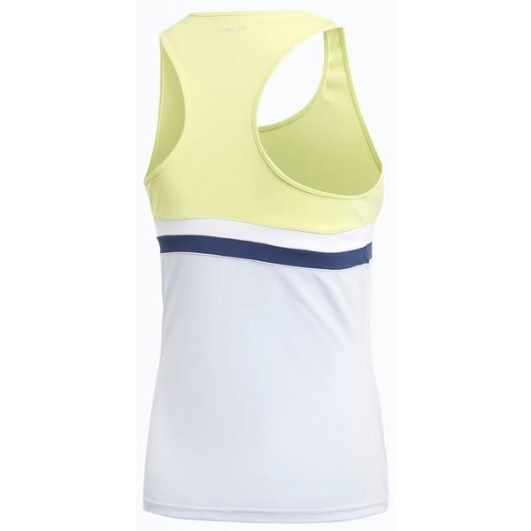 Теннисная майка женская Adidas Club Tank semi frozen yellow