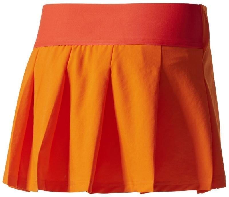 Теннисная юбка женская Adidas by Stella McCartney Barricade Skirt radiant orange/shock pink