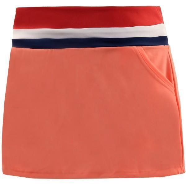 Теннисная юбка женская Adidas Club Skirt chalk coral