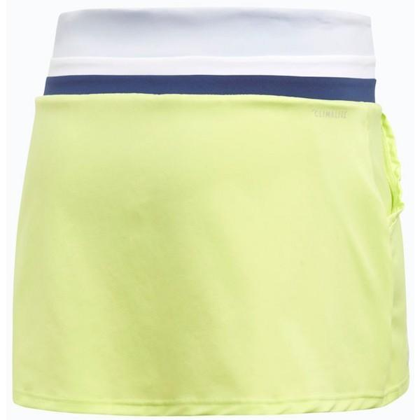 Теннисная юбка женская Adidas Club Skirt semi frozen yellow