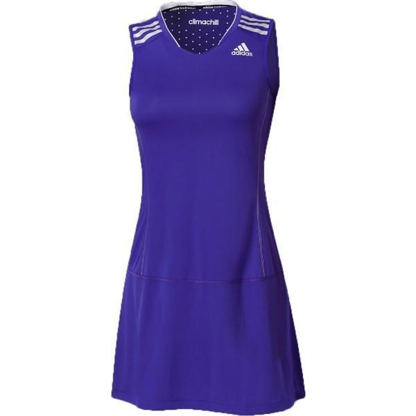 Теннисное платье женское Womens Adidas Flash Dress Night Blue