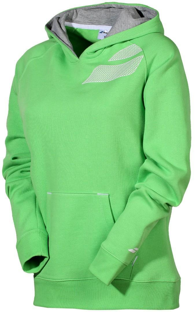 Кофта женская Babolat Hoodie Core Women green