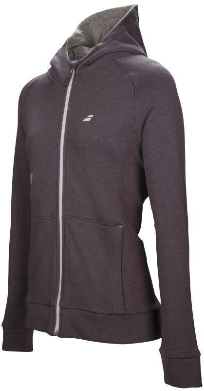 Кофта женская женская Babolat Core Hood Sweat Women castlerock