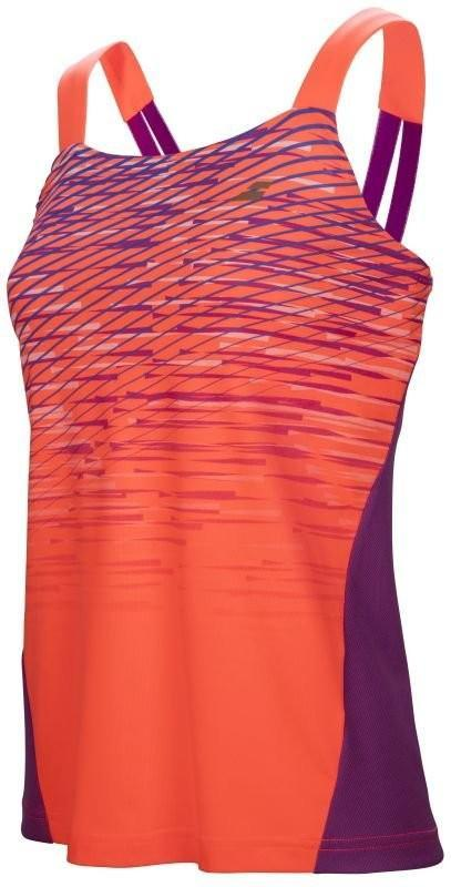 Теннисная майка женская Babolat Performance Tank Top Women fluo strike