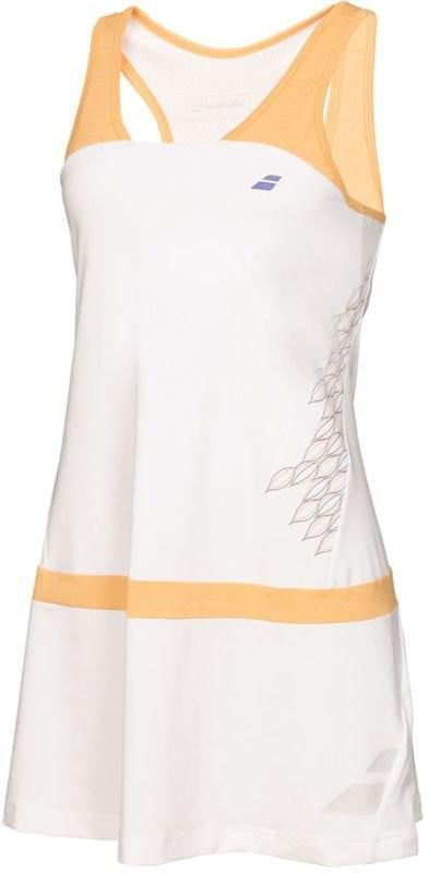 Теннисное платье женское Babolat Dress Raceback Performance Women white