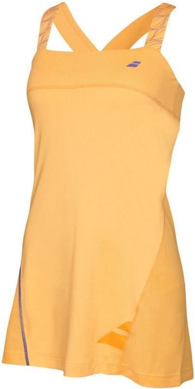 Теннисное платье женское Babolat Dress Strap Performance Women tomato washed