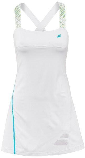 Теннисное платье женское Babolat Dress Strap Performance Women white
