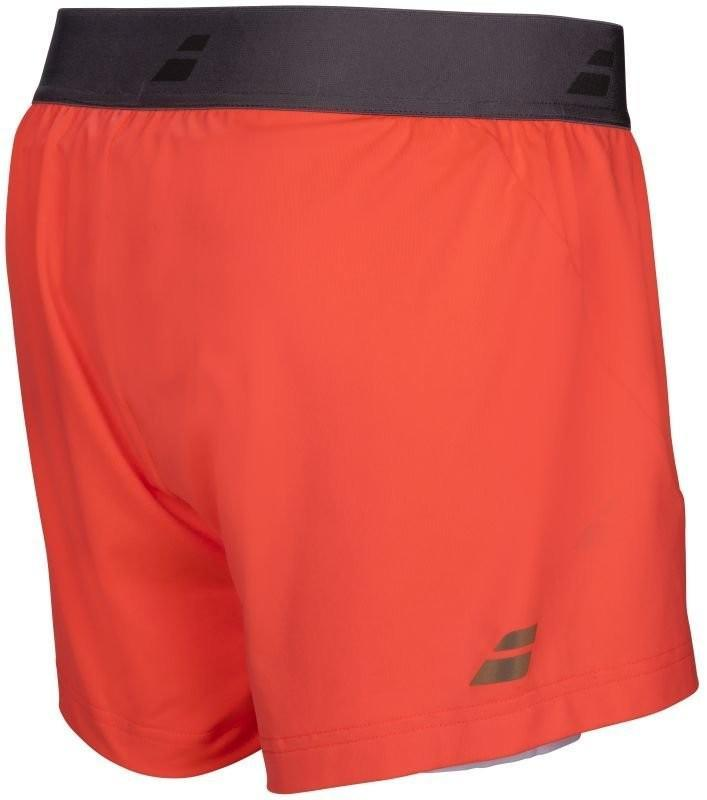 Теннисные шорты женские Babolat Performance Short Women fluo strike