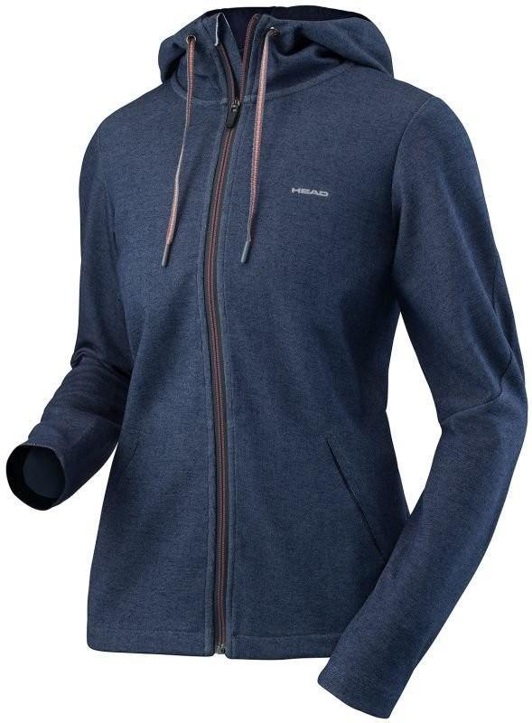 Кофта женская Head Transition Hoody FZ W navy